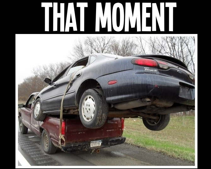 car towed meme pictures   inspirational pictures
